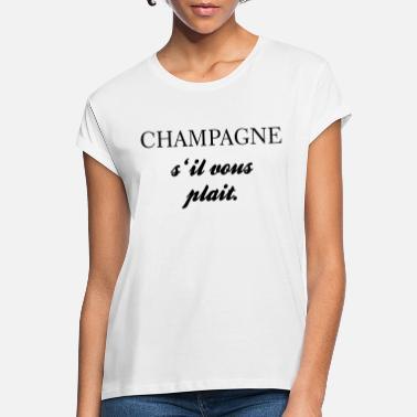 Champagne T shirts bestil online   Spreadshirt