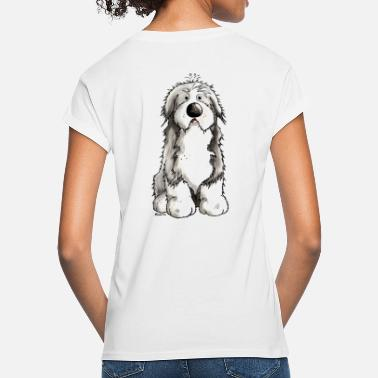 Bearded Collie Funny Bearded Collie - Women's Loose Fit T-Shirt
