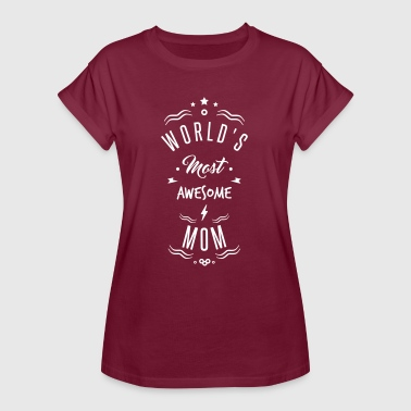 awesome mom - Women's Oversize T-Shirt
