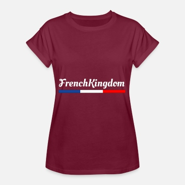 Demonstrere FrenchKingdom - Dame oversize T-shirt