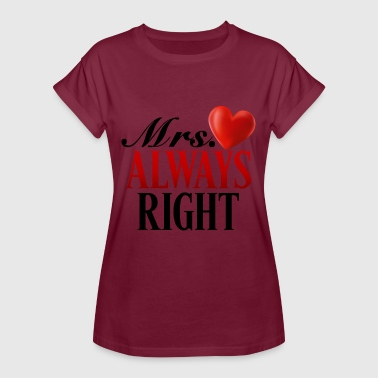 Mme Always Right - T-shirt oversize Femme