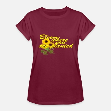 Super Natural Super nice gift for nature and flowers - Women's Oversize T-Shirt