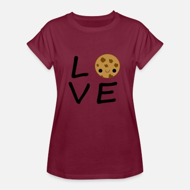 Keks Comic Keks Love - Frauen Oversize T-Shirt