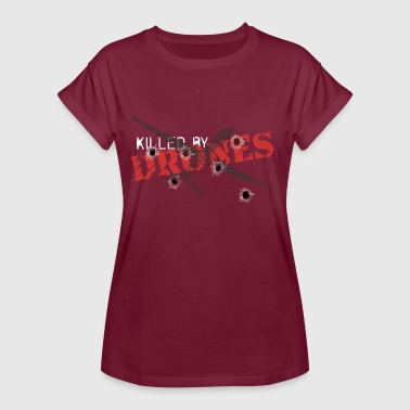 Kill Army Killed by Drones - Women's Oversize T-Shirt