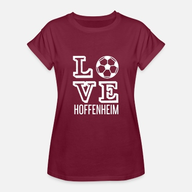 Hoffenheim LOVE HOPE HOME - Dame oversize T-shirt