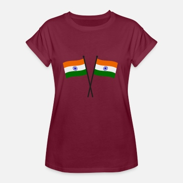 India Flag india flag - Women's Oversize T-Shirt