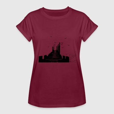The pier - Women's Oversize T-Shirt