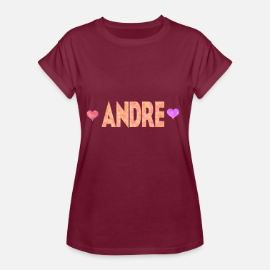 Andres Andre - Dame oversize T-shirt