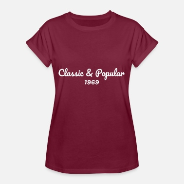 Birthday 1969 1969 birthday - Women's Oversize T-Shirt