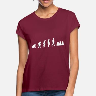 Milk The Evolution Of Babies - Women's Loose Fit T-Shirt