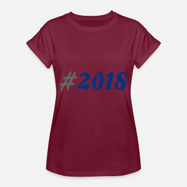 Leavers 2018 # 2018 - Women's Oversize T-Shirt