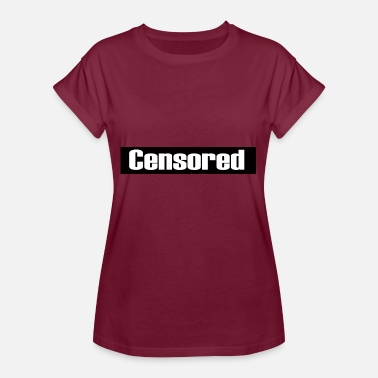 Censuré Censuré - censuré - T-shirt oversize Femme
