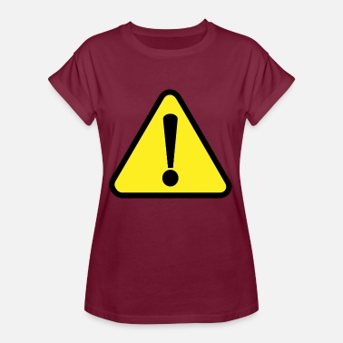 Attention Attention! Attention! - T-shirt oversize Femme