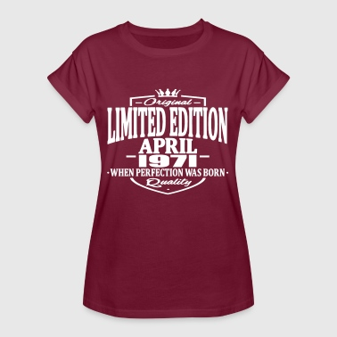 Limited edition april 1971 - Women's Oversize T-Shirt