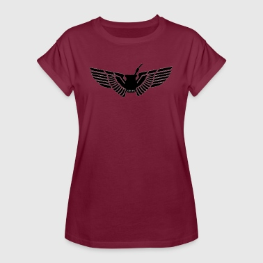 Wing Mate - Vrouwen oversize T-shirt