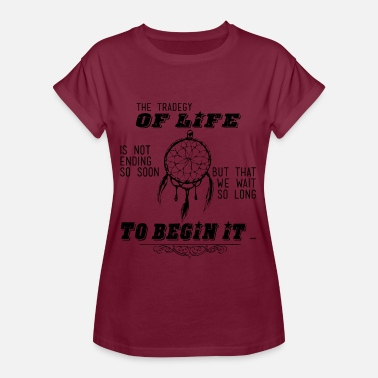 Tragedy The tragedy of life - The tragedy of life - Women's Oversize T-Shirt