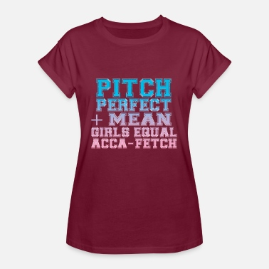 Pitch pitch - Frauen Oversize T-Shirt