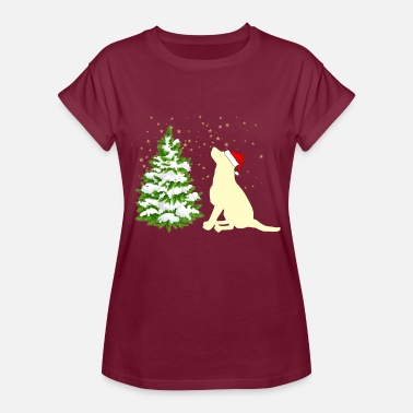 Retriever dog labrador golden retriever - Women's Oversize T-Shirt