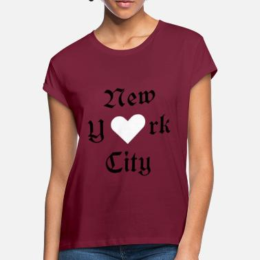 New York City New York City, York, New York, City, Valentine's Day, ILove - Women's Loose Fit T-Shirt