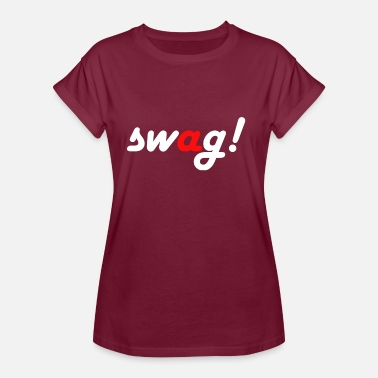 Swag Swag! - Vrouwen oversize T-shirt