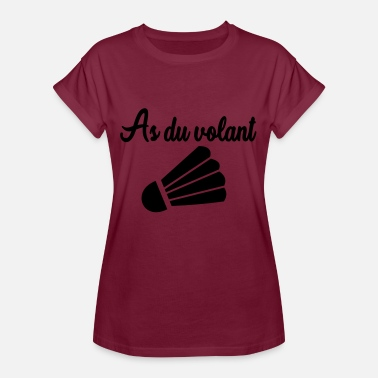 Volant Tech As du volant - T-shirt oversize Femme