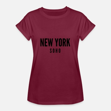Soho New York Soho - Women's Oversize T-Shirt