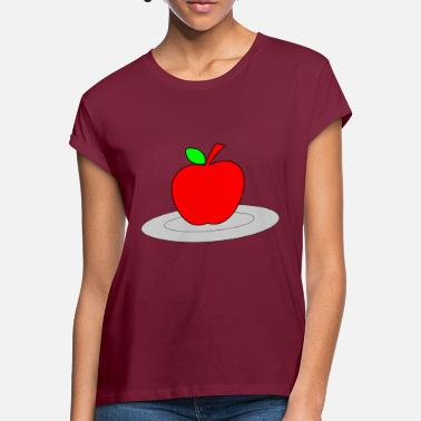 Plate apple on a plate - Women's Loose Fit T-Shirt