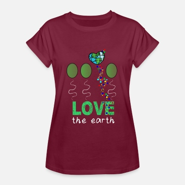 Mother Earth Love Mother Earth - Women's Oversize T-Shirt