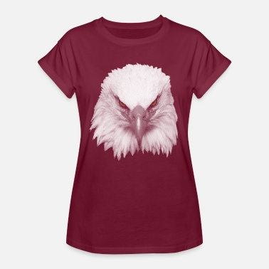 Big Head Big eagle head - Women's Oversize T-Shirt