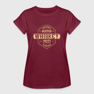 Scotch Scotch Whiskey - Frauen Oversize T-Shirt