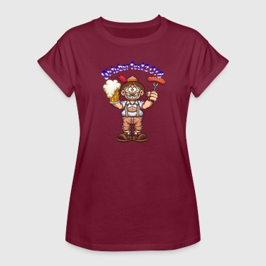 Oktoberfest beer and sausage - Women's Oversize T-Shirt