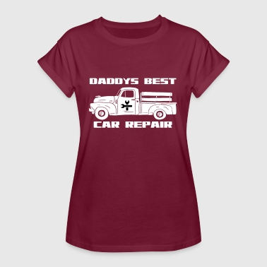 Auto Reparation Pades lyseste bil reparation auto værksted - Dame oversize T-shirt
