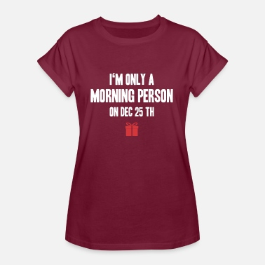Personal Jesus morning person - Women's Oversize T-Shirt