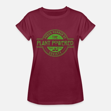 Herbivore Plant Powered Athlete Society Club Member Gift - Women's Oversize T-Shirt