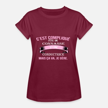 Conductrice Conductrice - T-shirt oversize Femme