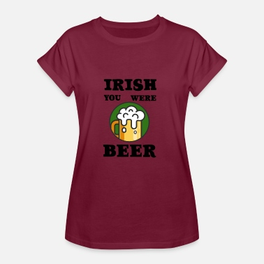 Fourleaf Clover Irish - Women's Oversize T-Shirt