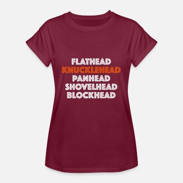 The Blockheads Knucklehead 2C - Women's Oversize T-Shirt