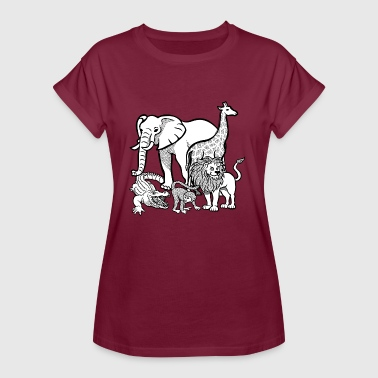 zoo - Frauen Oversize T-Shirt
