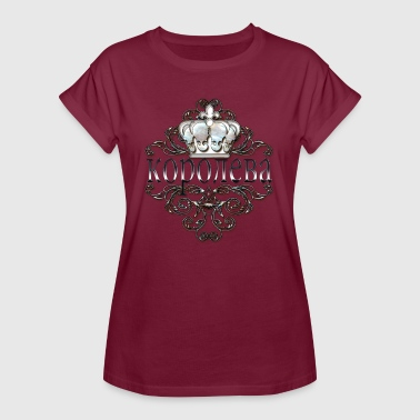 Russian Queen - Frauen Oversize T-Shirt