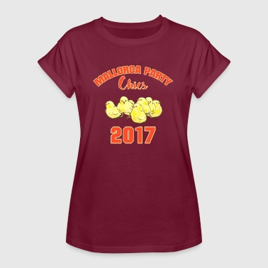Dames Party Mallorca Party CHICS 2017 DAMES - Vrouwen oversize T-shirt