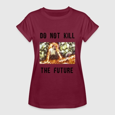 Do not kill the future 3 - Frauen Oversize T-Shirt