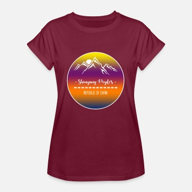 Shenyang Shenyang People's Republic of China - Women's Oversize T-Shirt