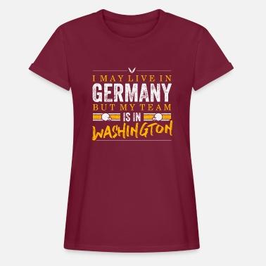 Washington Redskins Washington Football Fans Germany - Frauen Oversize T- Shirt c793be1dc