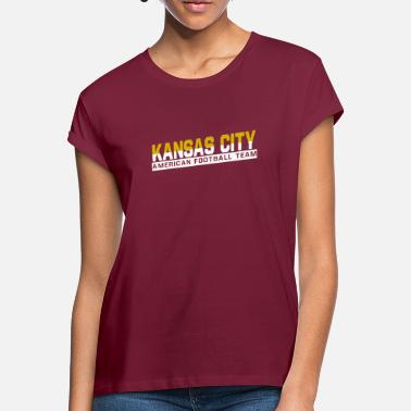 Kansas City Chiefs Kansas City Football - Women's Loose Fit T-Shirt