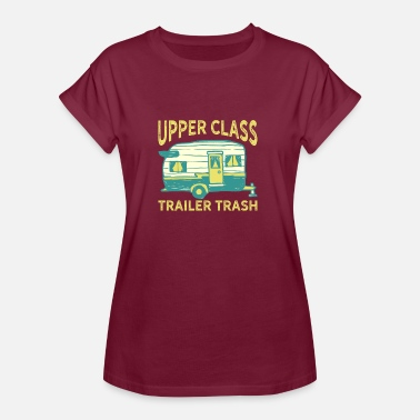 Trailer Trash Trailer Trash - Dame oversize T-shirt