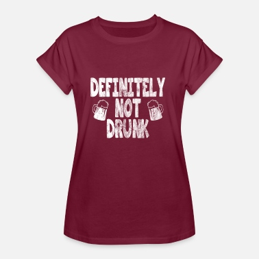 Used Look definitely not drunk used look - Frauen Oversize T-Shirt