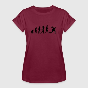 Evolution Basketball Evolution Basketball Basketballer Gift - Women's Oversize T-Shirt