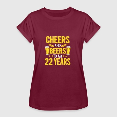 22nd birthday gift - Women's Oversize T-Shirt