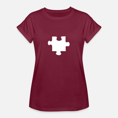 Puzzle Piece Piece of the Puzzle - Women's Oversize T-Shirt
