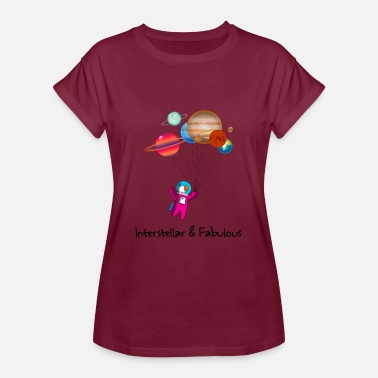 Interstellar Unicorn astronaut Interstellar Unicorn fabulous - Women's Oversize T-Shirt